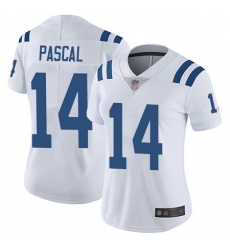 Women Zach Pascal Limited Road Jersey 14 Football Indianapolis Colts White Vapo