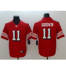Men's San Francisco 49ers Marquise Goodwin 11 Red Nike Scarlet Player Limited Jersey