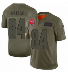 Youth New England Patriots 84 Benjamin Watson Limited Camo 2019 Salute to Service Football Jersey