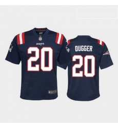 youth kyle dugger new england patriots navy game jersey