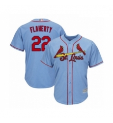 Youth St. Louis Cardinals #22 Jack Flaherty Authentic Light Blue Alternate Cool Base Baseball Player Jersey
