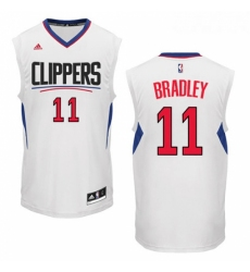 Womens Adidas Los Angeles Clippers 11 Avery Bradley Authentic White Home NBA Jersey