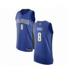 Mens Orlando Magic 8 Terrence Ross Authentic Royal Blue Basketball Jersey Icon Edition