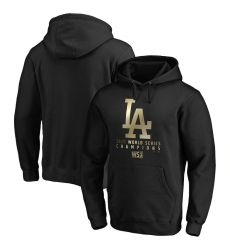 Men Los Angeles Dodgers 2020 World Series Champions Parade Pullover Hoodie Black