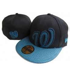 Washington Nationals Fitted Cap 004