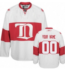 Men Women Youth Toddler Youth White Jersey - Customized Reebok Detroit Red Wings Third Winter Classic